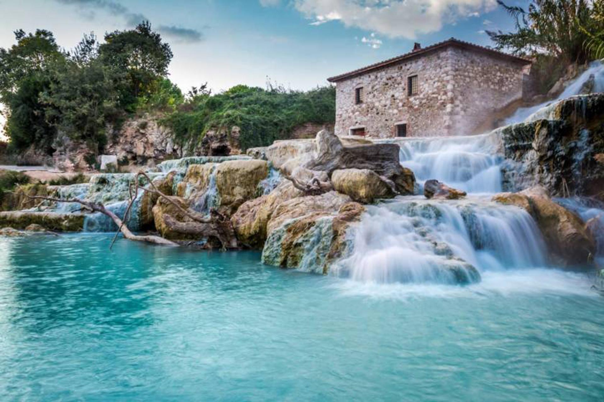thermal baths in Maremma